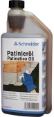 Patination oil in practicle dosage bottle